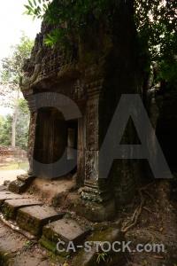 Cambodia ruin siem reap lichen ta prohm.