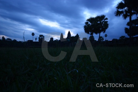 Cambodia ruin sunrise buddhism temple.