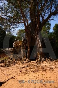 Cambodia sand angkor ta saom temple khmer.