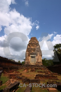 Cambodia unesco fungus sky brick.