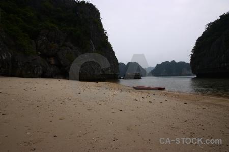 Canoe limestone sand stone rock.