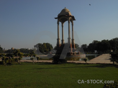 Canopy asia india gate new delhi monument.