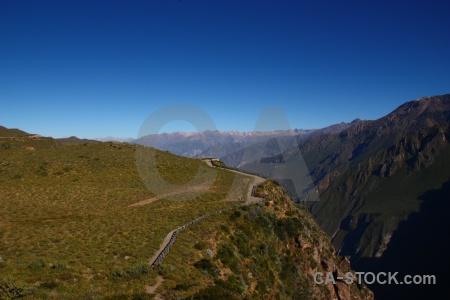 Canyon altitude peru landscape andes.