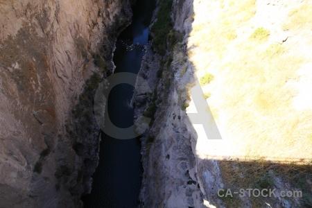 Canyon colca valley yanque andes altitude.