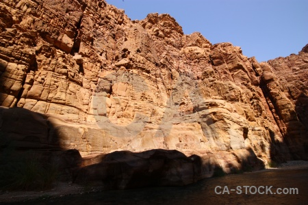 Canyon middle east gorge mujib western asia.