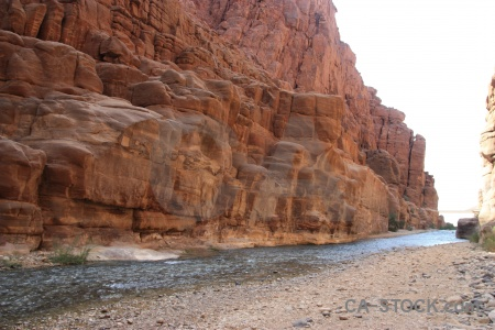 Canyon rock wadi river gorge.