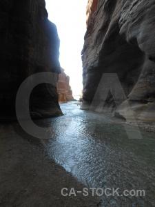 Canyon stone arnon middle east gorge.