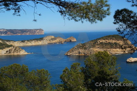 Cap negre europe cliff spain sea.