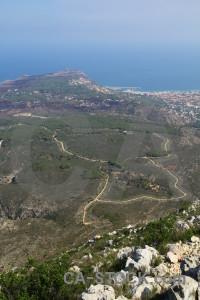 Cap san antoni javea montgo climb coast europe.