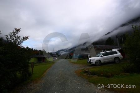Car sky fog cloud vehicle.