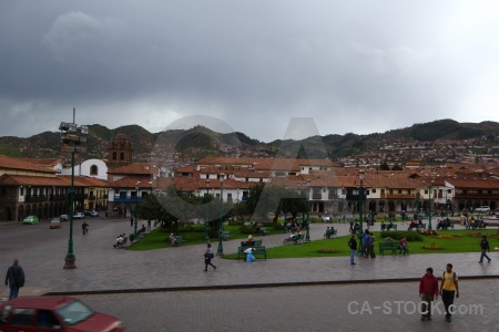 Car south america sky cusco cloud.
