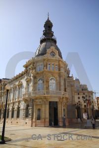 Cartagena building spain europe square.