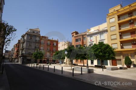 Cartagena building square europe spain.