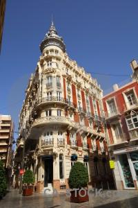 Cartagena europe blue corner spain.