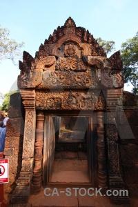 Carving angkor cambodia ruin asia.