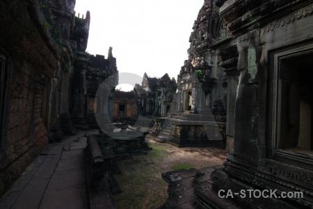 Carving ruin siem reap cambodia sky.
