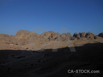 Carving sky western asia cliff jordan.
