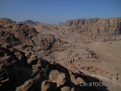 Carving unesco historic jordan nabataeans.