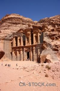 Carving unesco nabataeans jordan historic.