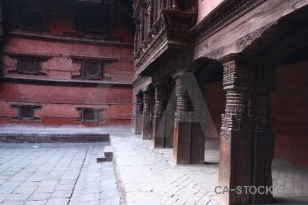 Carving wood buddhism kathmandu unesco.
