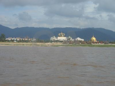 Casino thailand southeast asia laos mekong river.