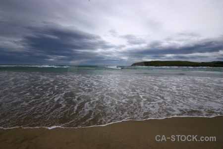 Catlins cloud water sky wave.