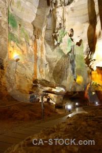 Cave benidoleig cueva de las calaveras rock spain.