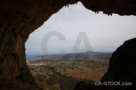 Cave spain europe montgo eye climb javea.