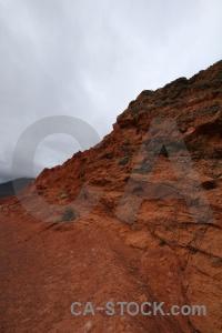 Cerro de los siete colores cliff sky landscape rock.