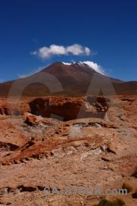 Cerro tomasamil mountain landscape altitude andes.