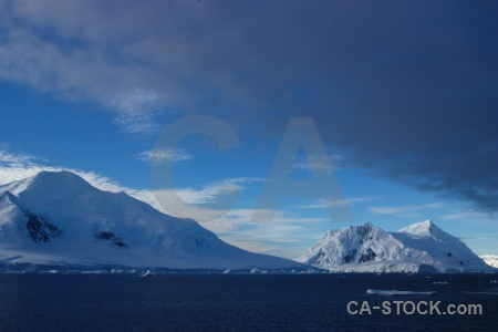 Channel ice antarctica sky cruise.