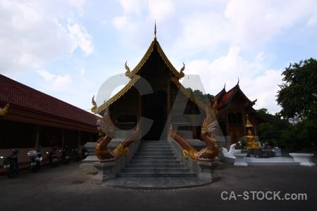 Chiang mai step thailand temple buddhist.