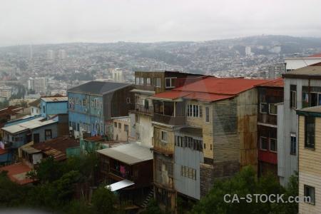 Chile city building sky south america.