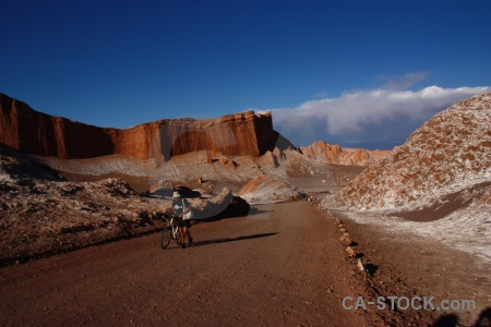 Chile cliff salt south america valley of the moon.
