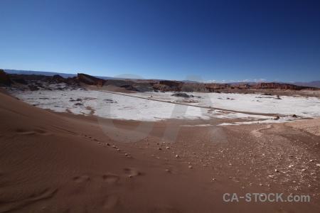 Chile cordillera de la sal valle luna desert san pedro atacama.