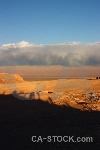 Chile desert landscape cloud san pedro de atacama.
