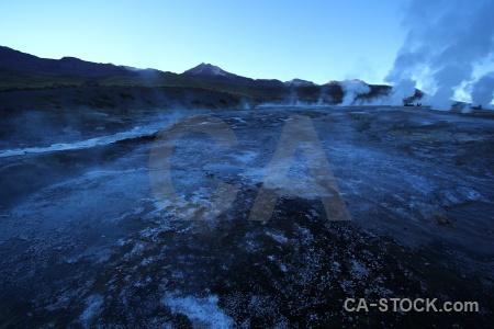 Chile geyser sky atacama desert el tatio.