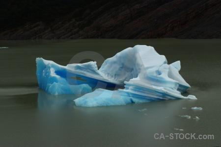 Chile ice circuit trek lake day 4.