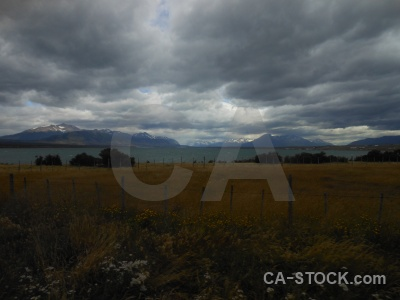 Chile patagonia south america cloud sky.