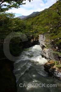 Chile rapid patagonia los perros river mountain.