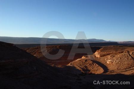 Chile san pedro de atacama desert landscape valle la luna.