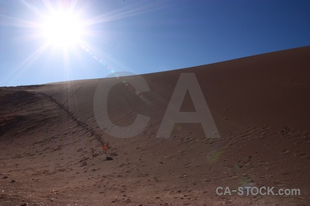 Chile sand cordillera de la sal desert sky.