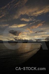 Chile sea water patagonia punta arenas.