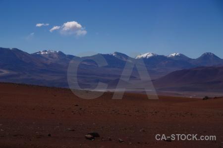 Chile south america mountain cloud desert.