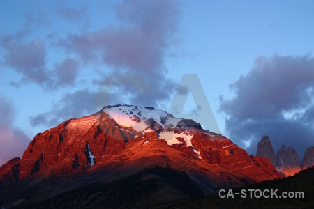 Chile south america snow sunset day 7.