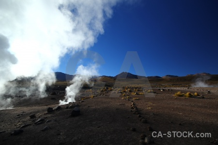 Chile sun el tatio mountain sky.