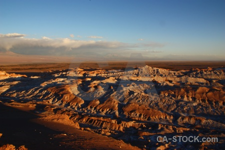 Chile valle de la luna sky cloud cordillera sal.