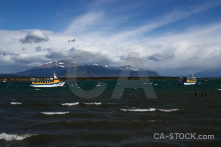 Chile vehicle patagonia puerto natales south america.