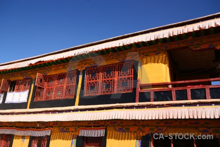 China buddhist palace sky building.