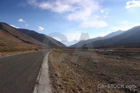 China desert mountain plateau asia.